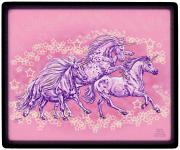 "EQUITANA Pferde-Messe NEUHEIT: Mousepad Mauspad mit Motivdruck "" STERNEN-PONIES"" NEU (22703) Kollektion Christina Bötzel"