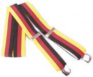 Hosenträger in Deutschland-Farben - 06709