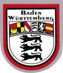PVC-Aufkleber- Sticker Wappen - Baden Württemberg - 301429 - Gr. ca. 6, 5 x 8cm