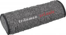 Nackenrolle mit Einstickung - träumen erlaubt - Gr. ca. 42 x 16, 5 x 9, 5 cm - 30081 grau
