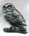 Anstecknadel - Metall - Pin - Eule - 02636