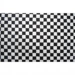 10 x Rennkaro Fahne Flagge Karting F1 schwarz weiß 60 x 40 cm Restposten - 052