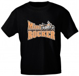Kinder T-Shirt - MINI-ROCKER - 06903 - schwarz - Gr. 134/146