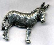 Anstecknadel - Metall - Pin - Esel - 02638