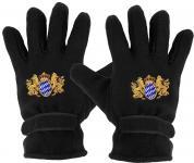 Handschuhe - Fleece - Bayern Wappen - Löwe - 31050