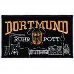 Dortmund - Ruhrpott - 20609 - Gr. ca. 12 x 7 cm - Patches Stick Applikation