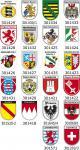 (309477) Einsatzschild Windschutzscheibe -Einsatzleitung Feuerwehr - incl. Regionen nach Wahl Schleswig Holstein
