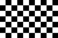 Dekoflagge - Start-Ziel - Gr. ca. 40x30 cm - 24459 - Hissfahne neutral