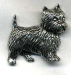 Anstecknadel - Metall - Pin - Yorkshire Hund - 02711