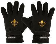Handschuhe - Fleece - Lilie - 31503