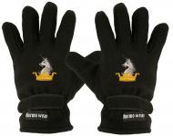"""(40385-56526) Fleece Handschuhe mit Einstickung """" KRONE EINHORN"""" Handschuhe"""""""