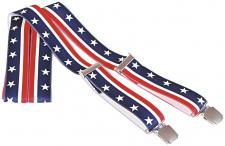 Hosenträger mit Print - Stars an Stripes USA Flagge - 06701