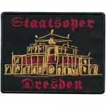 AUFNÄHER - Staatsoper Dresden - 00041 - Gr. ca 8cm x 6 cm - Patches Stick Applikation