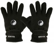 "(40385-56508) Fleece Handschuhe mit Einstickung "" YING YANG"""