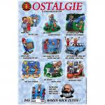 PST-Schild - OSTALGIE - Das waren noch Zeiten - 308997 - Gr. ca. 20 x 30 cm