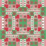 """(29652) 3x Tischdecke Weihnachtsmotiv """" Sterne Traditionell"""" Gr. 80x80cm"""