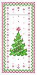 Serviette Bestecktasche - Tannenbaum - 33951 - Weihnachten Tischdeko