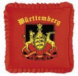 Rüschen- Dekokissen - WÜRTTEMBERG - 11373 - Gr. ca. 40 x 40 cm - Autokissen Dekokissen