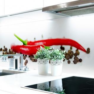 Küchenrückwand Pfeffer Chilli Premium Hart-PVC 0, 4 mm selbstklebend - Direkt auf die Fliesen