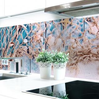 Küchenrückwand Seaside Premium Hart-PVC 0, 4 mm selbstklebend - Direkt auf die Fliesen