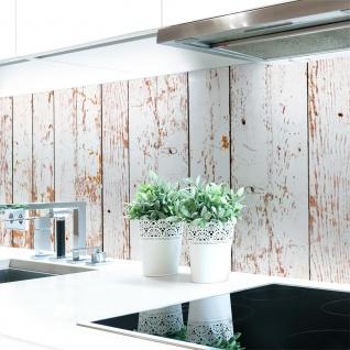 Küchenrückwand Bretterwand Hell Premium Hart-PVC 0, 4 mm selbstklebend - Direkt auf die Fliesen