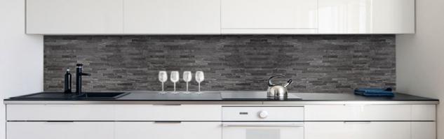 küchenrückwand steinwand dunkel premium hart pvc 0 4 mm