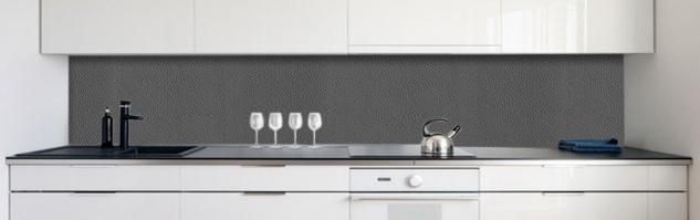 k chenr ckwand lederstruktur anthrazit premium hart pvc 0 4 mm selbstklebend direkt auf die. Black Bedroom Furniture Sets. Home Design Ideas