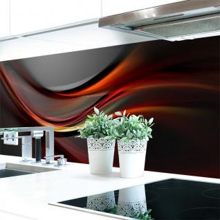 Küchenrückwand Abstrakt Dunkel Premium Hart-PVC 0, 4 mm selbstklebend - Direkt auf die Fliesen