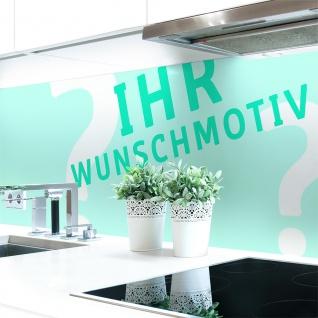 Küchenrückwand Wunschmotiv Premium Hart-PVC 0, 4 mm selbstklebend - Direkt auf die Fliesen