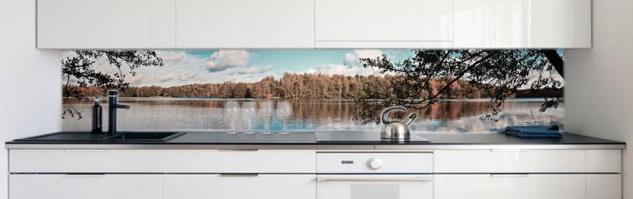 Kuchenruckwand Waldsee Premium Hart Pvc 0 4 Mm Selbstklebend Direkt Auf Die Fliesen Kaufen Bei Druck Expert Ug Haftungsbeschrangt