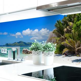 Küchenrückwand Strand Premium Hart-PVC 0, 4 mm selbstklebend - Direkt auf die Fliesen