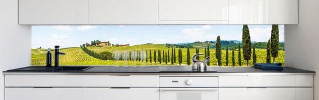 Kuchenruckwand Provence Premium Hart Pvc 0 4 Mm Selbstklebend Direkt Auf Die Fliesen Kaufen Bei Druck Expert Ug Haftungsbeschrangt