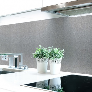 Küchenrückwand Graphitwand Grau Premium Hart-PVC 0, 4 mm selbstklebend - Direkt auf die Fliesen