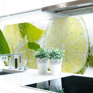 Küchenrückwand Fresh Lemon Premium Hart-PVC 0, 4 mm selbstklebend - Direkt auf die Fliesen