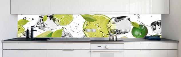 Küchenrückwand Limetten Eiswasser Premium Hart-PVC 0, 4 mm ...