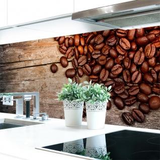 Küchenrückwand Kaffee Bohnen Premium Hart-PVC 0, 4 mm selbstklebend - Direkt auf die Fliesen