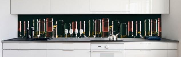 Küchenrückwand Wine Galery Premium Hart-PVC 0, 4 mm selbstklebend - Direkt auf die Fliesen - Vorschau 2