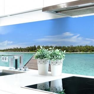 Küchenrückwand Insel Premium Hart-PVC 0, 4 mm selbstklebend - Direkt auf die Fliesen