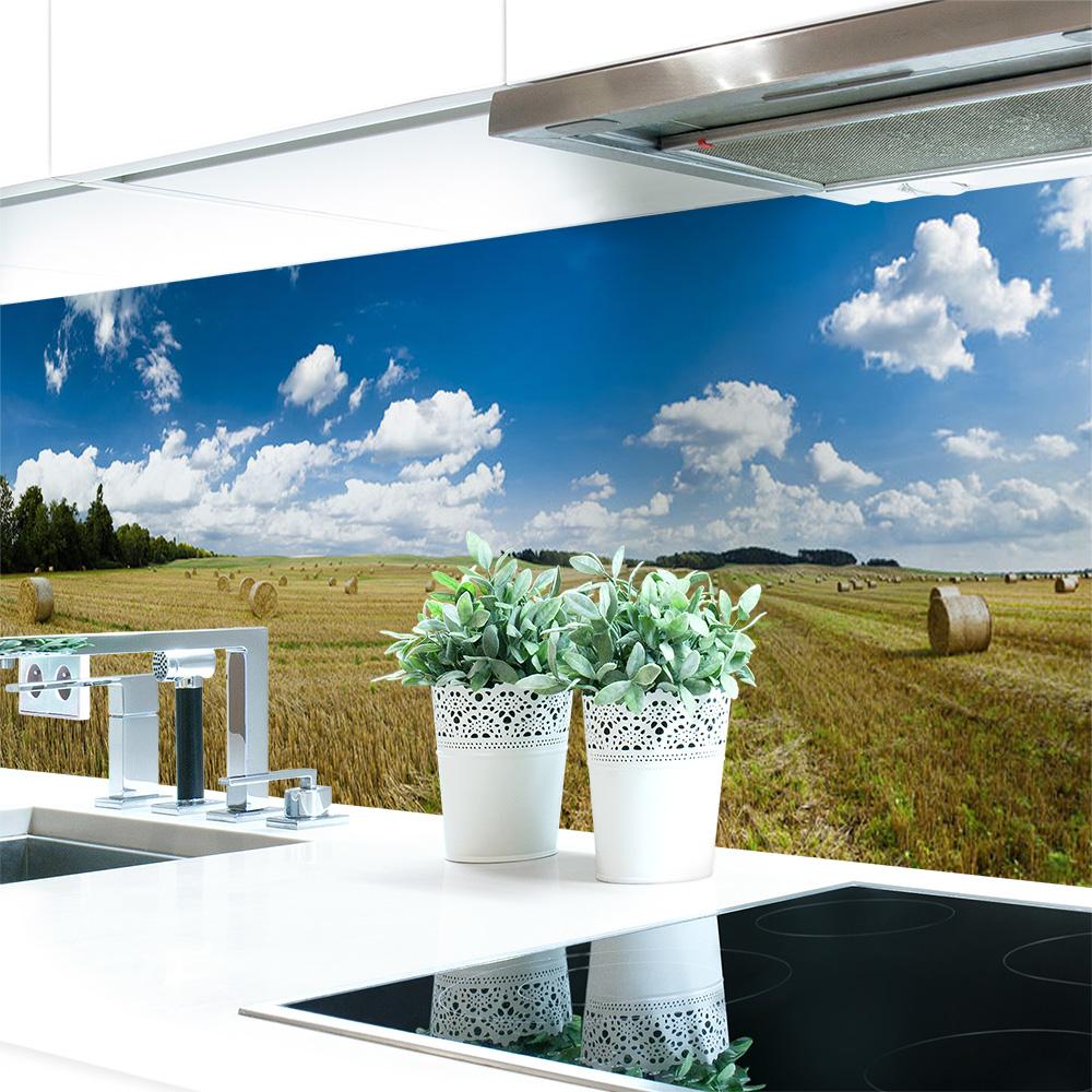 Kuchenruckwand Feld Premium Hart Pvc 0 4 Mm Selbstklebend Direkt