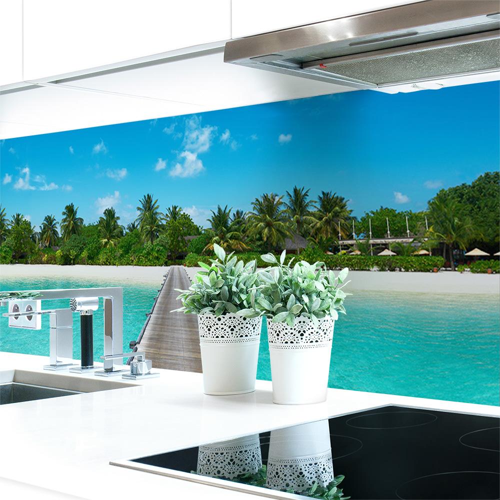 Kuchenruckwand Insel Premium Hart Pvc 0 4 Mm Selbstklebend Direkt