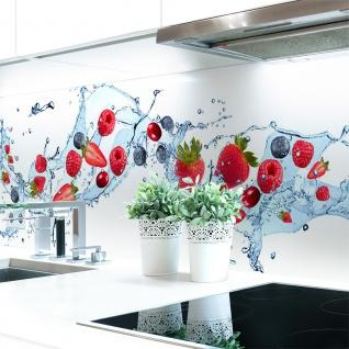 Küchenrückwand Berry Splash Premium Hart-PVC 0, 4 mm selbstklebend - Direkt auf die Fliesen