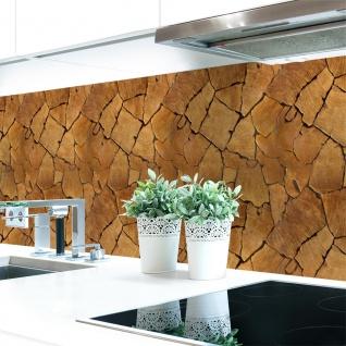 Küchenrückwand Baumstamm Natur Premium Hart-PVC 0, 4 mm selbstklebend - Direkt auf die Fliesen