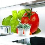 Küchenrückwand Fresh Tomatoe Premium Hart-PVC 0, 4 mm selbstklebend - Direkt auf die Fliesen