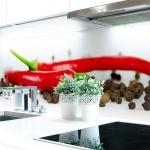 Küchenrückwand Chilli Pfeffer Premium Hart-PVC 0, 4 mm selbstklebend - Direkt auf die Fliesen