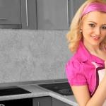 Küchenrückwand < Steinwand Hellgrau > Premium Hart-PVC 0, 4 mm selbstklebend - Direkt auf die Fliesen