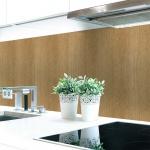 Küchenrückwand Holzstruktur Hell Premium Hart-PVC 0, 4 mm selbstklebend - Direkt auf die Fliesen