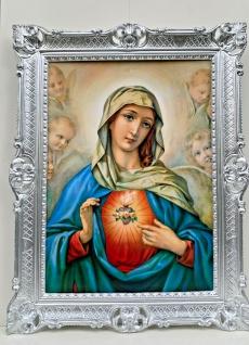 heiliges Herz Maria Gemälde Madonna heilige Maria mutter gottes Bild mit Rahmen