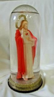Christliche ikonen Figur als Deko Glasskugel 19x10x10cm Heilige , jesus Christus