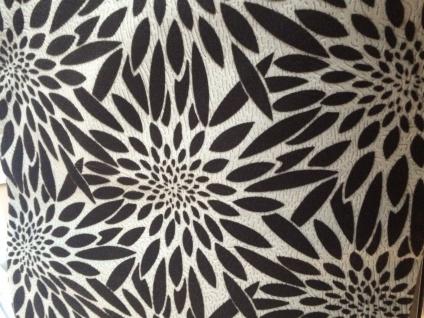 Ornament Sofakissen Kissenhülle Kissenbezug 45x45cm Schwarz braun grau