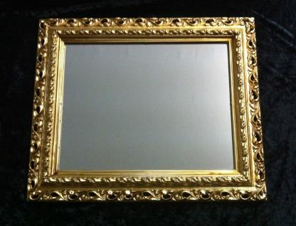 Wandspiegel 43x36 Spiegel BAROCK Rechteckig Antik 3059 GOLD Arabesco 4